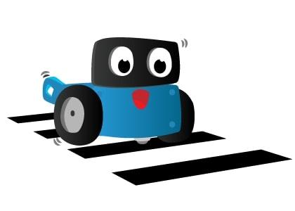 Robot qua đường