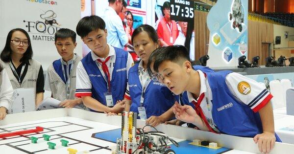 STEM Robot trang bị cho học sinh những kỹ năng cần thiết cho tương lai
