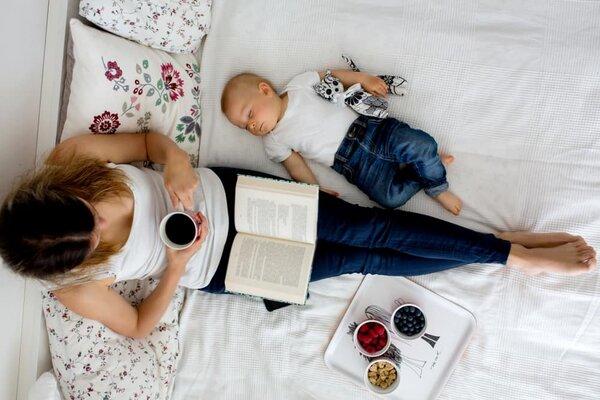 Mẹ trở nên nhàn rỗi hơn khi nuôi con theo phương pháp Easy